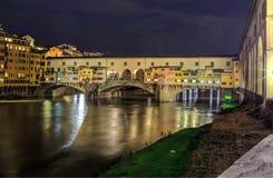 Ponte Vecchio, Florencia Fotos de archivo