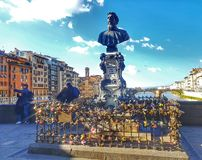 Florence Italy Toscana Ponte Vechio royalty free stock image