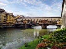 Ponte Vecchio Florencia Italia Fotografía de archivo libre de regalías