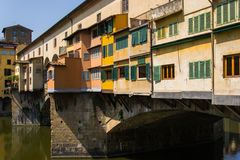 Ponte Vecchio - Florencia - Italia Imagen de archivo libre de regalías