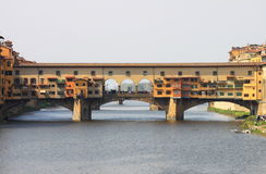 Ponte Vecchio in Florenz Lizenzfreies Stockbild