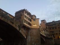 Ponte Vecchio, Florenz stockbilder