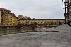 Ponte Vecchio, Florenz Stockbild