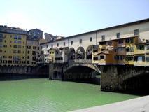 Ponte Vecchio, Florenz, Italien stockbild