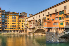 Ponte Vecchio, Florenz, Italien Lizenzfreie Stockfotografie
