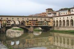 Ponte Vecchio in Florenz, Italien Lizenzfreie Stockfotografie