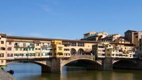 Ponte Vecchio, Florenz, Italien Lizenzfreie Stockbilder