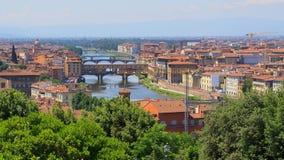 Ponte Vecchio, Florenz, Italien Lizenzfreie Stockfotos