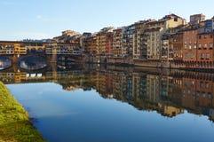 Ponte Vecchio, Florenz, Italien lizenzfreies stockbild
