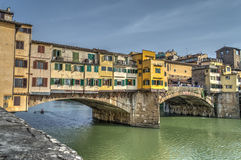 Ponte Vecchio in hdr Royalty Free Stock Image