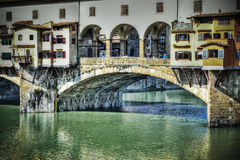 Ponte Vecchio in hdr effect Royalty Free Stock Image