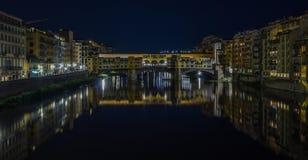 Ponte Vecchio II royaltyfri foto