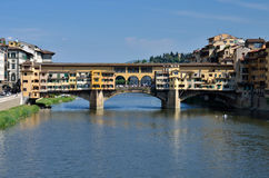 Ponte Vecchio, medieval landmark of Florence Royalty Free Stock Photos