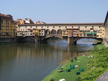 The Ponte Vecchio Stock Image