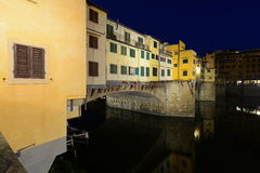 Ponte Vecchio at night Stock Photo