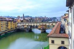 Ponte Vecchio od Above Fotografia Stock