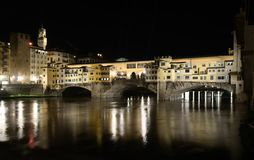 Ponte vecchio (old bridge), firenze Royalty Free Stock Photo