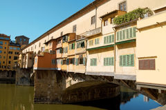 Ponte vecchio (old bridge) in Florence Royalty Free Stock Image