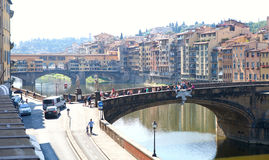The Ponte Vecchio (Old Bridge) in Florence, Italy Stock Photo