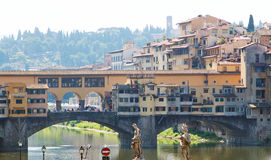 The Ponte Vecchio (Old Bridge) in Florence Stock Photography