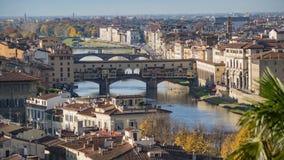 Ponte Vecchio, Old Bridge, Florence, Italy. Royalty Free Stock Photo