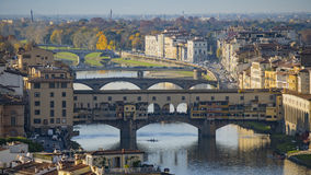 Ponte Vecchio, Old Bridge, Florence, Italy. Stock Photo