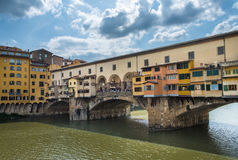 Ponte Vecchio or Old Bridge in Florence, Italy Stock Photo