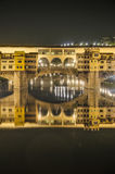 The Ponte Vecchio (Old Bridge) in Florence, Italy. Royalty Free Stock Photography