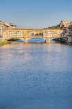 The Ponte Vecchio (Old Bridge) in Florence, Italy. Royalty Free Stock Photos