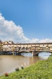The Ponte Vecchio (Old Bridge) in Florence, Italy. Stock Images