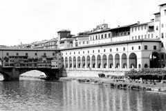 The Ponte Vecchio (Old Bridge) in Florence Royalty Free Stock Images
