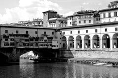 The Ponte Vecchio (Old Bridge) in Florence Royalty Free Stock Photos