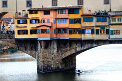 Ponte Vecchio Old Bridge in Florence, Italy Stock Photography