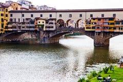 Ponte Vecchio in Florence. Ponte Vecchio, old bridge, in Florence, Italy Royalty Free Stock Photo