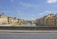 The Ponte Vecchio Stock Photo