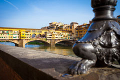 The Ponte Vecchio. Is one of the symbols Stock Images