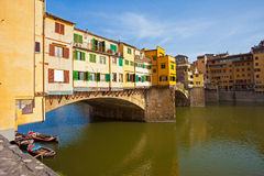 The Ponte Vecchio. Is one of the symbols Royalty Free Stock Images