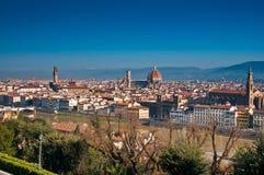 Ponte Vecchio (Oude Brug) in Florence stock fotografie