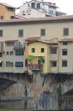 Ponte Vecchio over Arno River Stock Photography