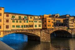 Ponte Vecchio Bridge, Italy Royalty Free Stock Photos