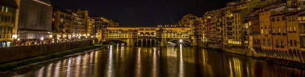 Ponte Vecchio przy Florencja, Włochy obraz stock