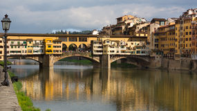 Ponte Vecchio, Right Stock Photography