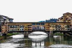 Ponte Vecchio and river. royalty free stock photo