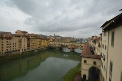 Ponte Vecchio, river, town, water, waterway. Ponte Vecchio is river, waterway and tourism. That marvel has town, canal and reflection and that beauty contains stock photos