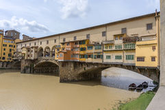 Ponte Vecchio after storm Stock Photos