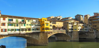 Ponte Vecchio - toskanka, Toscana, Toskana Włochy Fotografia Royalty Free