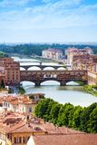Ponte Vecchio in Tuscany Royalty Free Stock Photography