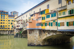 Ponte Vecchio (Vecchio Bridge) Royalty Free Stock Photo