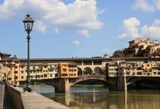 Ponte Vecchio w Florencja obraz royalty free