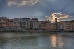 Ponte Vecchiol Florence, Italy royalty free stock photo